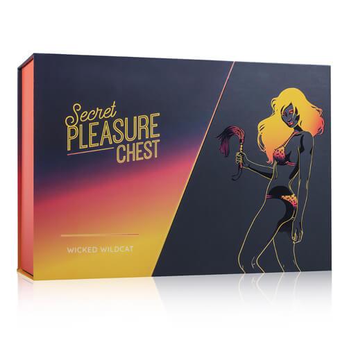 Das Bild zeigt die Verpackung der Secret Pleasure Chest - Wicked Wildcat